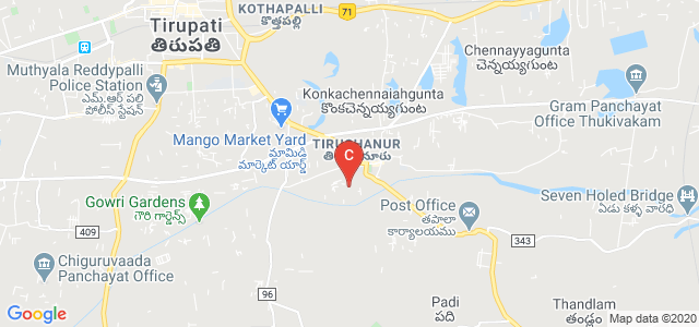 Sri Padmavathi College of Computer Sciences and Technology, Vaishnavi Nagar, Mohan Gardens, Tirupati, Andhra Pradesh, India