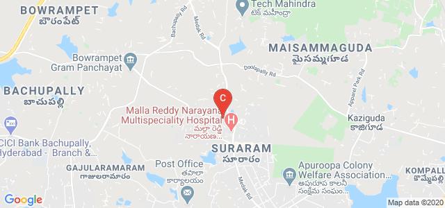 Malla Reddy Institute Of Dental Sciences, Venkatarama Colony, Suraram, Hyderabad, Telangana, India