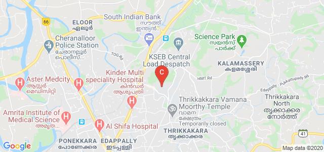 Department of Computer Applications, University Road, South Kalamassery, Kalamassery, Ernakulam, Kerala, India