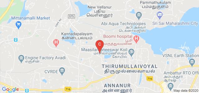 Murugappa Polytechnic College, Chennai, Tamil Nadu, India