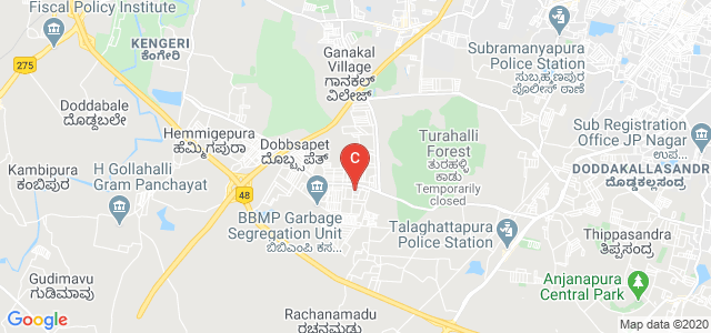 RV College of Architecture, Vajarahalli Main Road, Banashankari 6th Stage 4th Block, Bangalore, Karnataka, India
