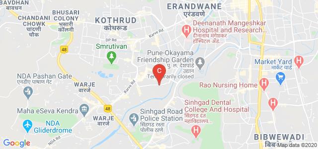 Dr Bhanuben Nanavati College Of Architecture For Women, Yash Lakshmi Hostel, Cummins College Road, Dnydeep Colony, Hingne Budrukh, Karve Nagar, Pune, Maharashtra, India
