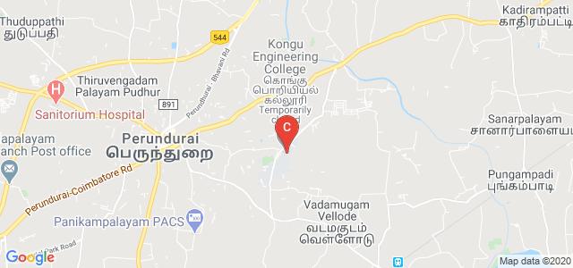 Kongu School Of Architecture, Kumaran Nagar, Vadamugam Vellode, Erode, Tamil Nadu, India