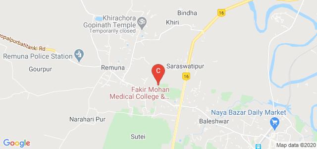 Government Medical College & Hospital, Balasore, Januganj Road, Kalidaspur, Balia, Balasore, Odisha, India