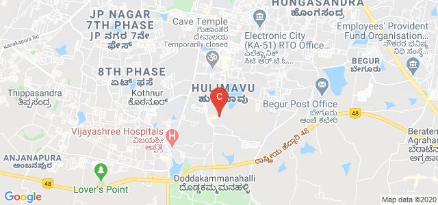 AECS Maaruti College of Dental Sciences & Research Center, Near Meenakshi Temple, Bannerghatta Main Rd, BTM 6th stage, 1st Phase, Kammanahalli, Bangalore, Karnataka, India