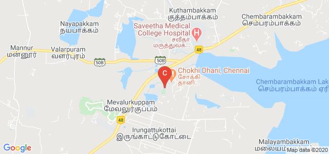 Rajalakshmi Engineering College Park, Mevalurkuppam, Tamil Nadu, India