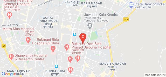 Bhavans College of Communication and Management, Bhaskar Flyover, Vivek Vihar, Bajaj Nagar, Jaipur, Rajasthan, India
