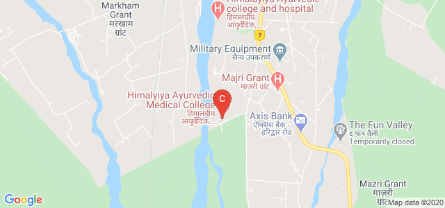Himalayiya Ayurvedic Medical College & Hospital, Dehradun, Uttarakhand, India