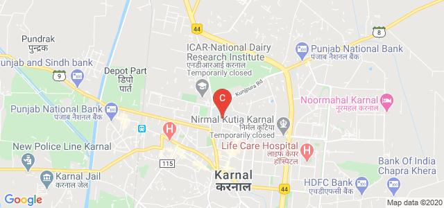 Kalpna Chawla Government Medical College & Hospital, Model Town, Karnal, Haryana, India