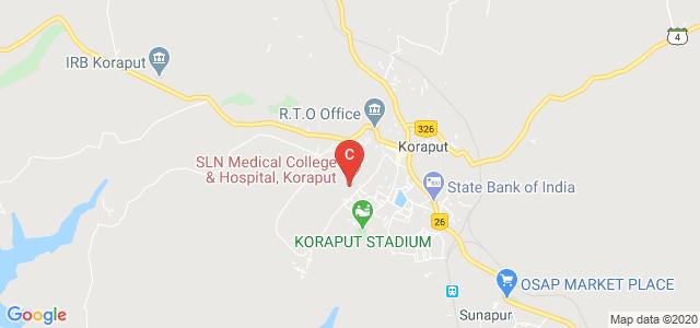 S L N Medical College & Hospital, Koraput, Pujariput, Koraput, Odisha, India