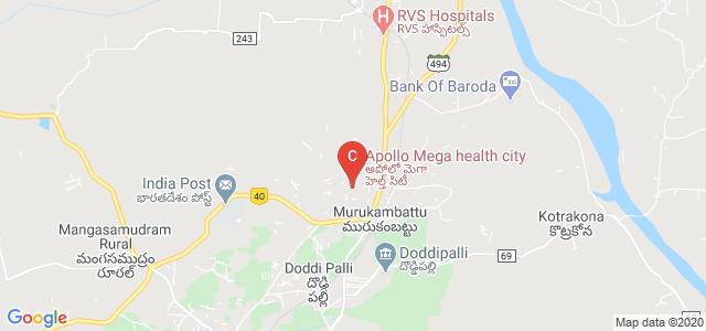 Apollo Institute of Medical Sciences and Research, Chittoor, Andhra Pradesh, India