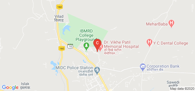Dr. Vithalrao Vikhe Patil Foundation's Medical College, MIDC, Ahmednagar, Maharashtra, India
