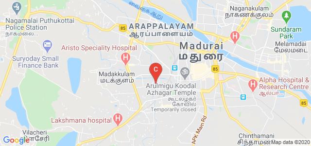 Bishop Thorp College, Ellis Nagar, Dharapuram, Tamil Nadu, India