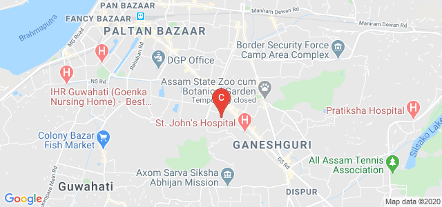 Regional Dental College, GS Road, Bhangagarh, Guwahati, Assam, India