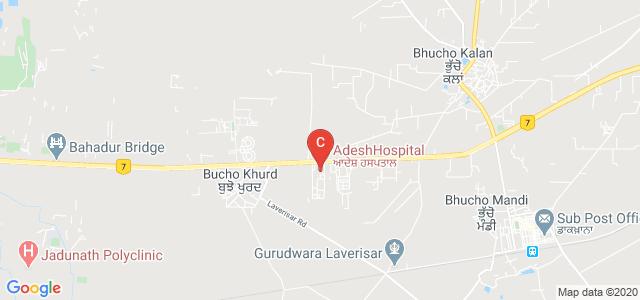 Adesh Institute of Medical Sciences & Research, Bathinda, Punjab, India