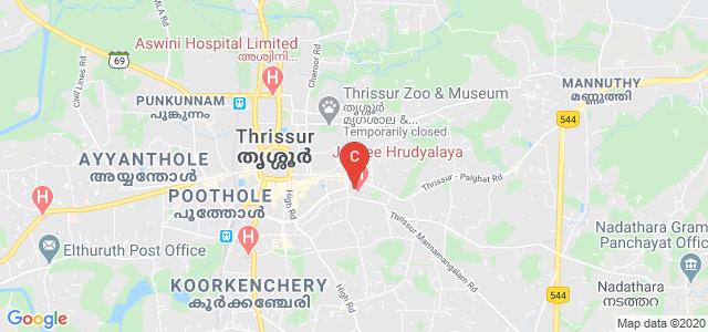 JMMCRI THRISSUR (Jubilee Mission Medical College and Research Institute), Fathima Nagar, Mahatma Nagar, Nellikunnu, Thrissur, Kerala, India