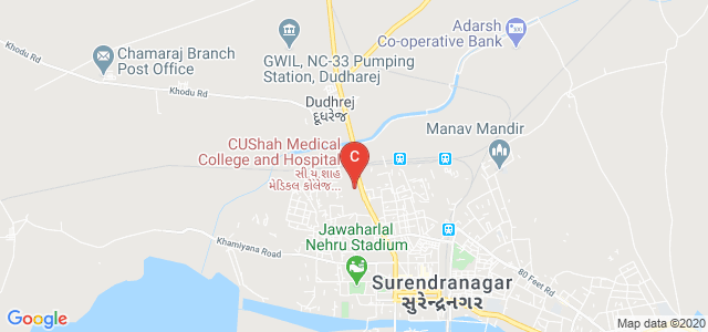 C U Shah Physiotherapy College, Laxminarayan Society, Surendranagar, Gujarat, India