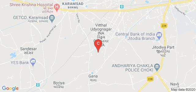 Govindbhai Jorabhai Patel Ayurveda College, New Vallabh Vidyanagar, Vallabh Vidyanagar, Anand, Gujarat, India