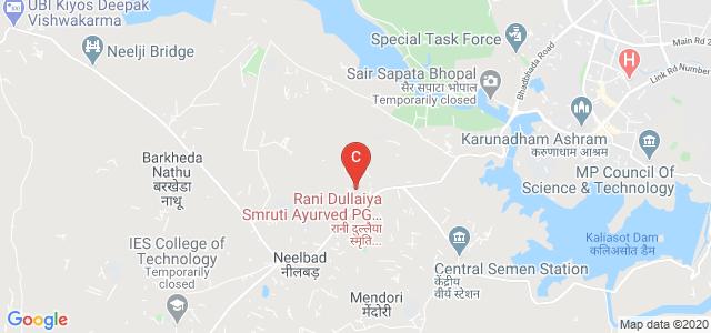Rani Dullaiya Smruti Ayurved P.G. Mahavidyalay And Chikitsalay, Bhadbhada Road, Barkhedi Kala, Kopal, Bhopal, Madhya Pradesh, India