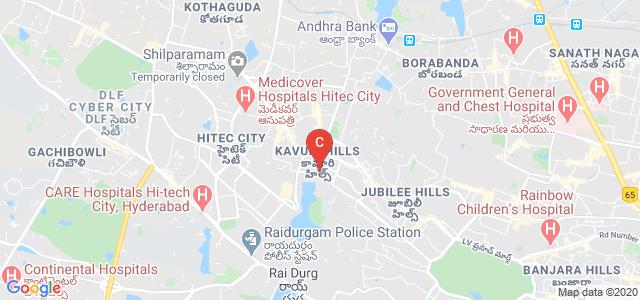 Creative Mentors Animation College, Kavuri Hills Road, Masthan Nagar, CBI Colony, HITEC City, Hyderabad, Telangana, India