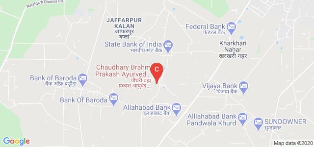 Chaudhary Brahm Prakash Ayurved Charak Sansthan, Ghummanhera, Delhi, India