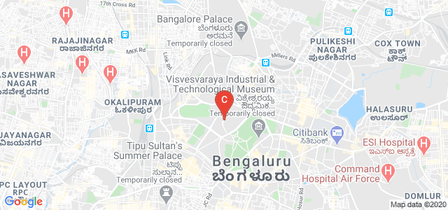 Sampangi Rama Nagar, Dr BR Ambedkar Rd, High Grounds, Bengaluru, Karnataka 560001, India