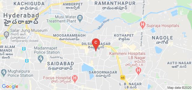Panineeya Institute Of Dental Sciences & Research Centre, VR Colony, Kamala Nagar, Dilsukhnagar, Hyderabad, Telangana, India