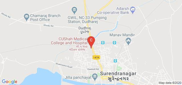 C.U.Shah Medical College and Hospital, Dudhrej Rd, Laxminarayan Society, Surendranagar, Gujarat, India