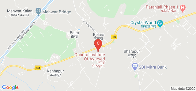 Quadra Institute Of Ayurved, Haridwar Road, Belda, Roorkee, Uttarakhand, India