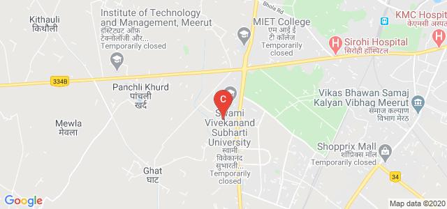 Subharti Institute of Fine Arts & Fashion, NH-58, Meerut Bypass Road, Subhartipuram, Meerut, Uttar Pradesh, India