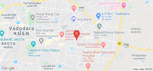 Government Ayurvedic college and Hospital, Memon Colony, Satyam Park Society, Vadodara, Gujarat, India