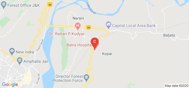 Batra Hospital Road, Jammu