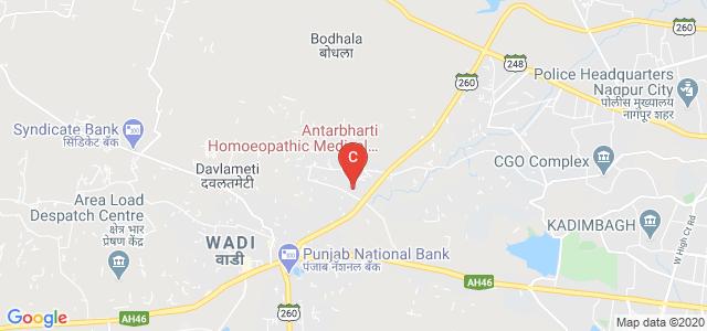 Antarbharti Homoeopathic Medical College & Hospital, Dhabha, Vayusena Nagar, Nagpur, Maharashtra, India