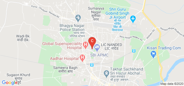Government Polytechnic, Nanded, Baba Nagar, Nanded, Maharashtra, India