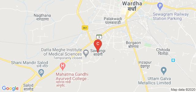 Srimati Radhikabai Meghe Memorial College Of Nursing, Wardha, Maharashtra, India
