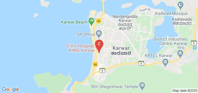 KARWAR Institute Of Medical Sciences, MG Road, Kodibag, Karwar, Karnataka, India