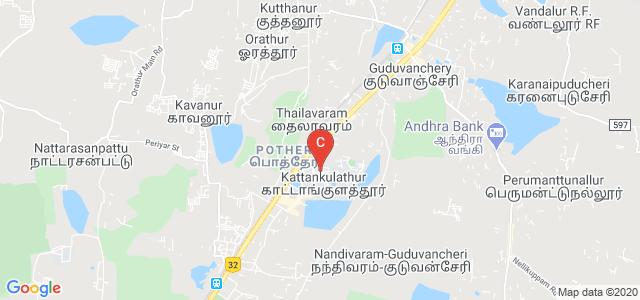 Valliammai Engineering College, National Highway 45, Potheri, SRM Nagar, Kattankulathur, Kancheepuram, Tamil Nadu, India