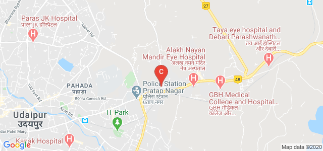 RAJASTHAN VIDYAPEETH TECHNOLOGY COLLEGE, Unnamed Road, Pratap Nagar, Udaipur, Rajasthan, India