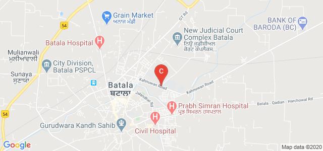 Government Polytechnic College, Simbel, Batala, Punjab, India