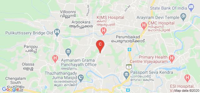 Pullarikkunnu Bus Stop, Kumaranalloor, Kottayam, Kerala, India