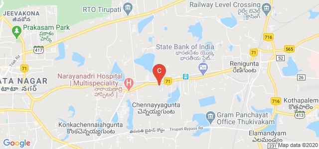 CKS Theja Dental College, National Highway 71, Tirupati, Andhra Pradesh, India