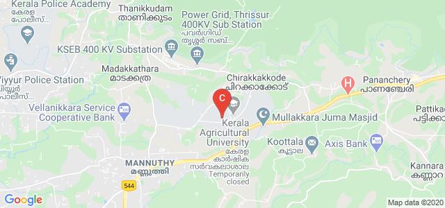 KAU College of Horticulture, Vellanikkara, Thrissur, Kerala, India