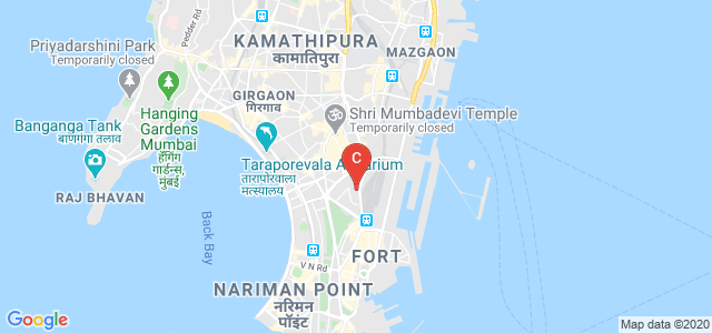Sir J J College of Architecture, Doctor Dadabhai Naoroji Road, Dhobi Talao, Chhatrapati Shivaji Terminus Area, Fort, Mumbai, Maharashtra, India