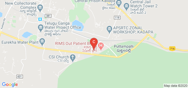 RIMS Dental College, Puttampalli, Andhra Pradesh, India
