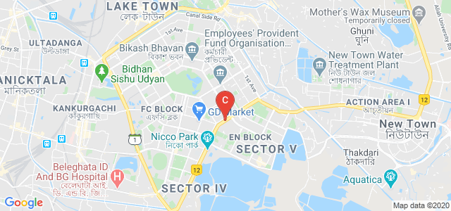 Salt Lake Bypass, EM Block, Sector V, Salt Lake City, Kolkata, West Bengal, India