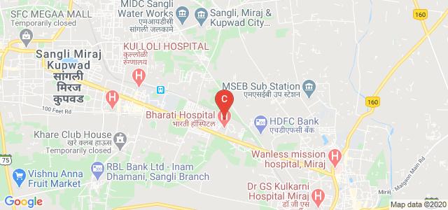 Bharati Vidyapeeth Dental Girls Hostel, Sangli - Miraj Road, Vishrambag, Sangli, Maharashtra, India