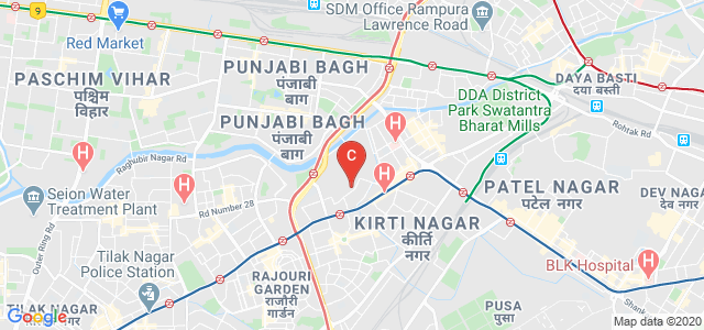 Basai Dara pur, Bali Nagar, New Delhi, Delhi 110015, India