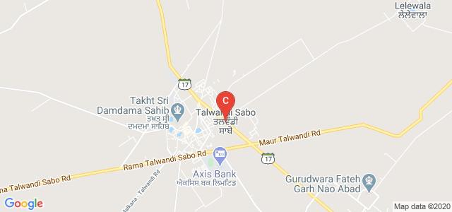Talwandi Sabo, Punjab 151302, India