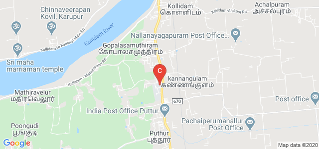 Srinivasa Subbaraya Government Polytechnic College, Chennai - Nagapattinam Highway, Puthur, Tamil Nadu, India