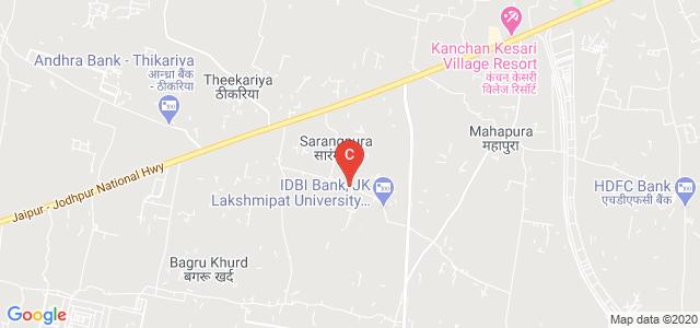 JK Lakshmipat University Cafeteria, Jaipur, Rajasthan, India